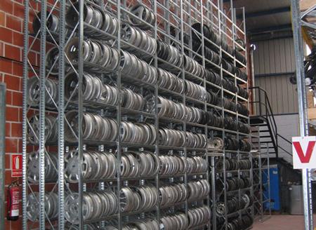 tire storage